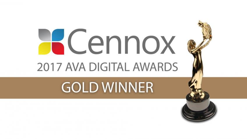 A picture of Cennox Wins 2017 AVA Digital Award
