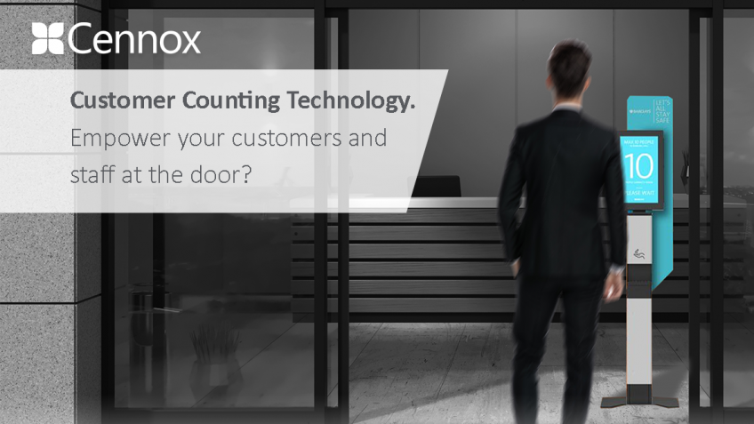 A picture of Customer Counting Technology - Empower your customers and staff at the door?
