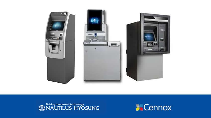 A picture of Cennox announced as the new distributor and service provider for Nautilus Hyosung products and services