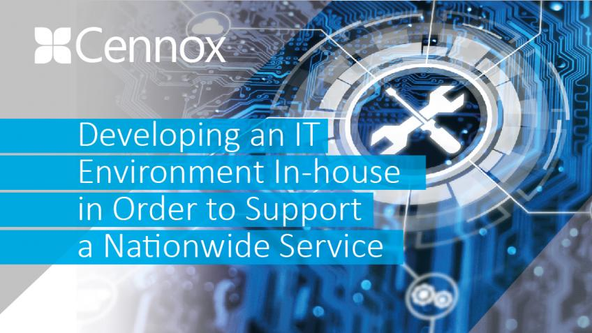Une photo de Developing an IT Environment In-House, to Support a Nationwide Service