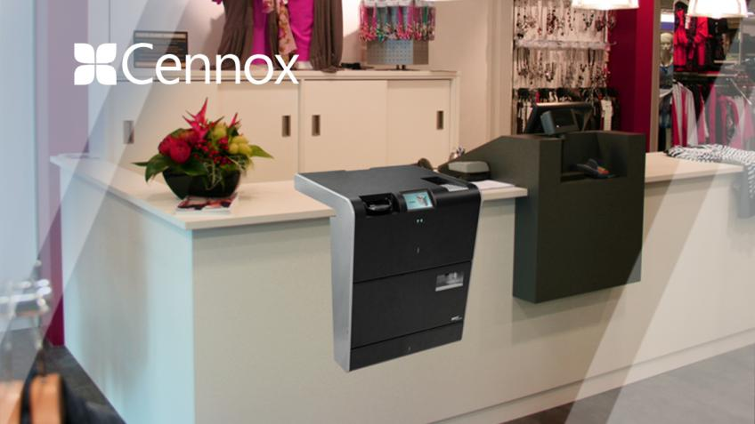 A picture of The customer facing, intelligent and secure solution for cash management.