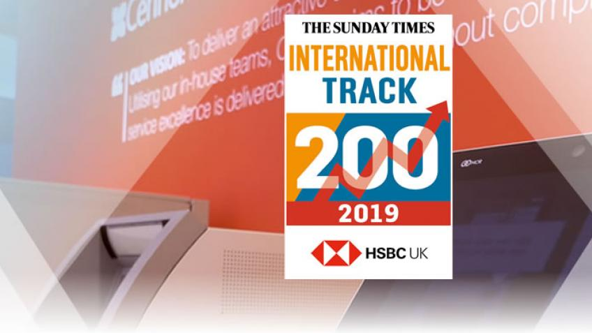 A picture of CENNOX ARE LISTED IN THE FASTEST GROWING BUSINESS TRACK 200 FOR THE FOURTH YEAR RUNNING.