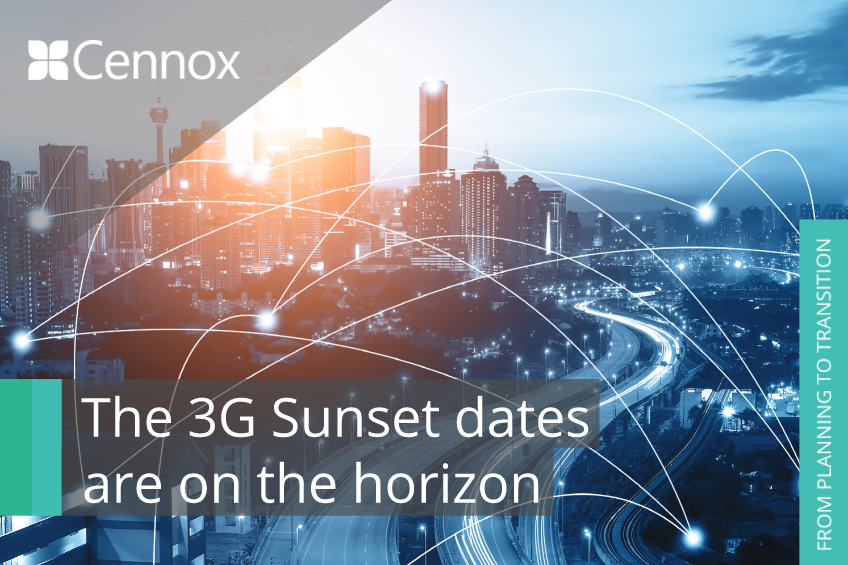 A picture of 3G Sunset and the impact on security systems