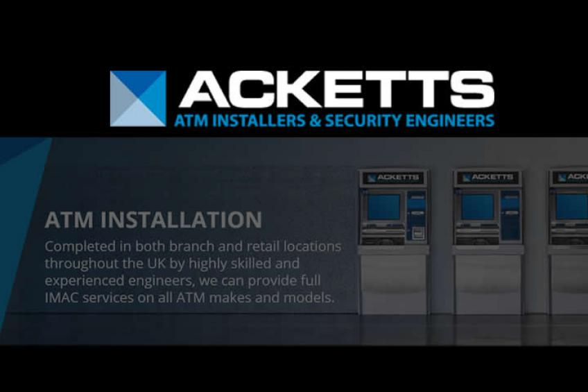 A picture of Cennox completes the acquisition of ATM Installation & Security Business, Acketts Group Ltd