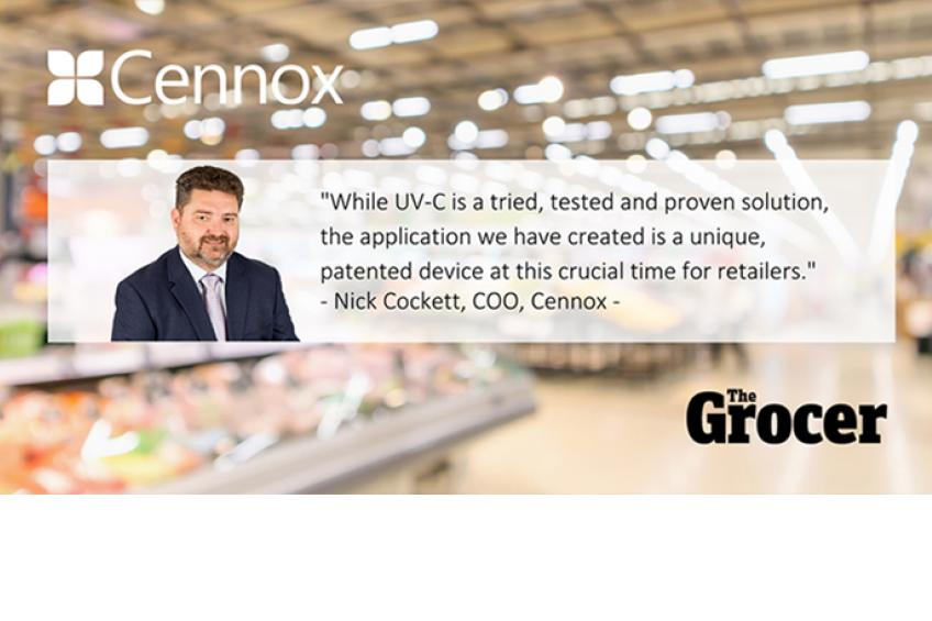 A picture of Device for retailers to neutralize coronavirus at high-risk checkouts launched by Cennox