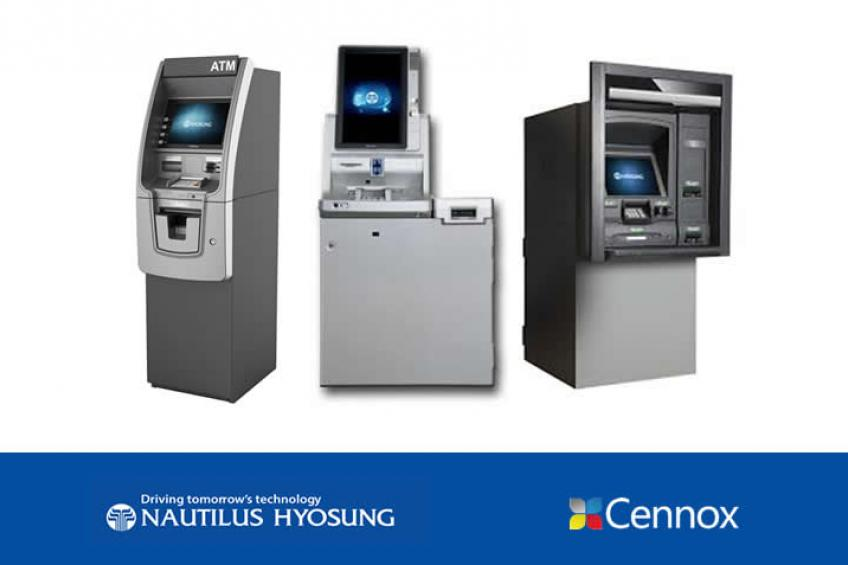 A picture of Cennox announced as the new distributor and service providerfor Nautilus Hyosung products and services