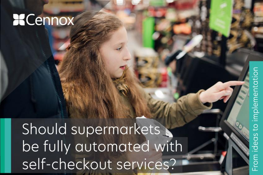 A picture of Should supermarkets be fully automated with self-checkout services?