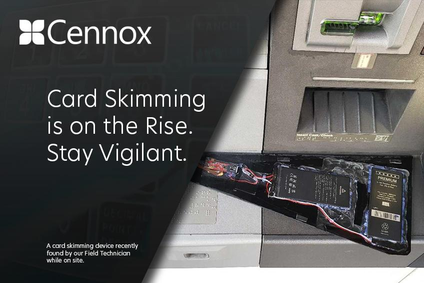Una foto de Rise of Card Skimming & How to Keep Protected